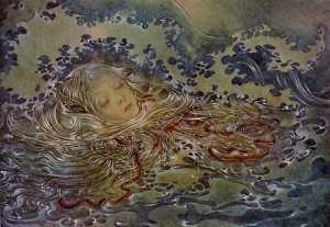 Mermaid detail by Sulamith Wulfing